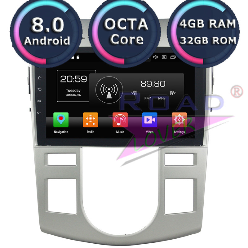 Roadlover Android 8,0 Автомобильный мультимедийный плеер для KIA Cerato Forte 2012-2008 Стерео gps навигация Autovideo Magnitol 2 Din без DVD