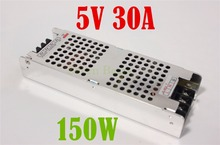 Best quality 5V 30A 150W Switching Power Supply Driver for LED Strip AC 220V Input to DC 5V free shipping
