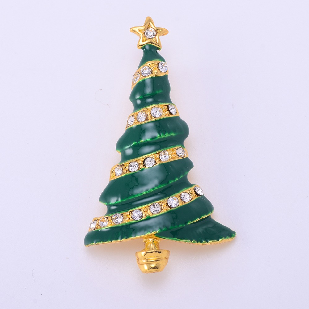 №Fashionable Christmas Tree Brooches For Women Vintage Broches Mujer ...