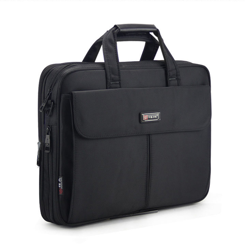 Business briefcase Laptop bag handbag men's bag Oxford cloth Large capacity Multifunction handbags high quality Shoulder Bags 27 bags large capacity electrician oxford tools bag waterproof single shoulder multifunction repair thicken instrument case