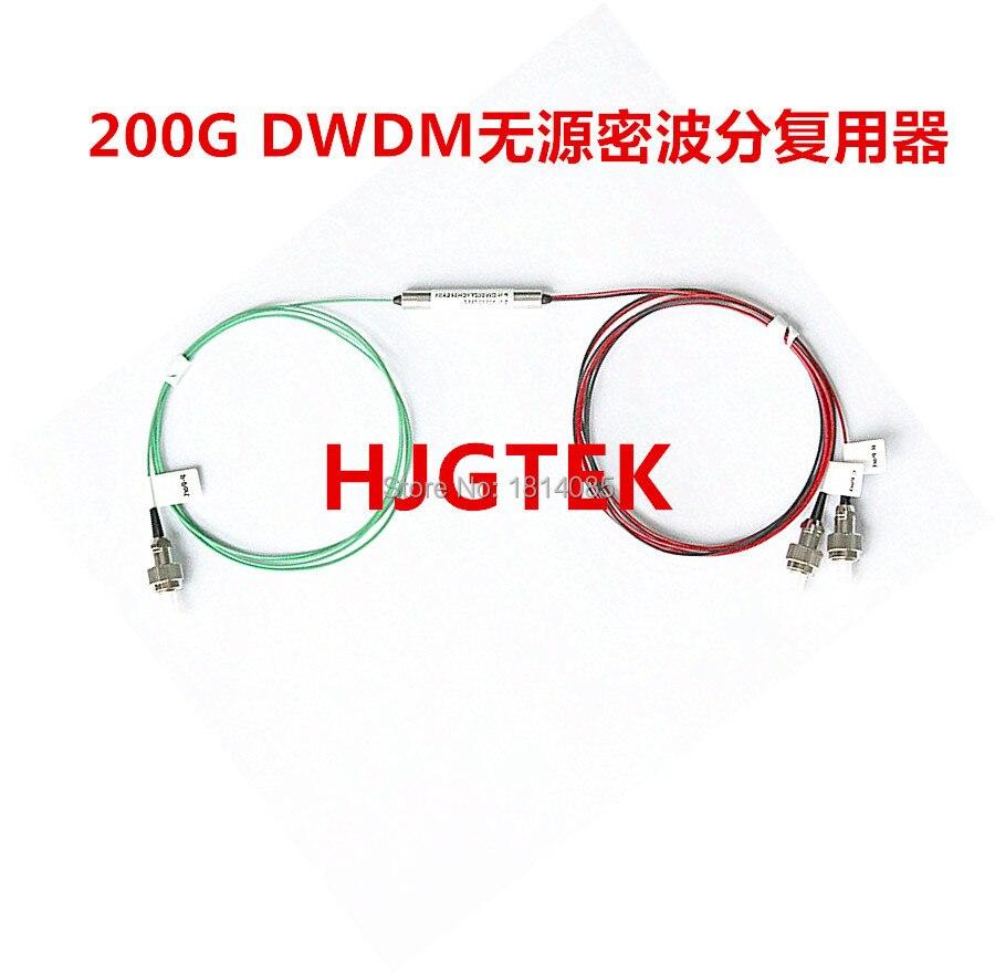 Fibre optique 2 canaux Mux/Demux Module 200G DWDMFibre optique 2 canaux Mux/Demux Module 200G DWDM