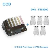 Brand New F191151 F191141 Printhead DX6 Solvent Print Head
