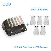 Абсолютно новая F198000 F198060 разблокированная печатающая головка DX6 Сольвентная печатающая головка для Epson Stylus Pro 4900 4910 SureColor P5000 P5080 принтер