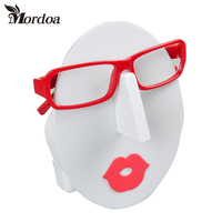 Popular Fashion The Girl With Face Glasses Sunglasses Spectacles Display Stand Holder Rack Jewelry Display Free