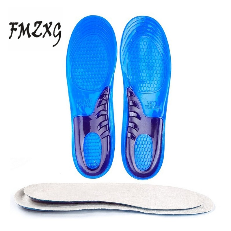 FMZXG Insoles Breathable Comfortable Silicone Inserts Deodorant shock absorption shoe Insoles Foot Pain Relieve Cushions expfoot orthotic arch support shoe pad orthopedic insoles pu insoles for shoes breathable foot pads massage sport insole 045