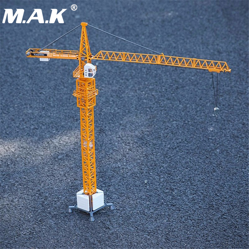 1/50 Diecast Tower Slewing Crane Construction Truck Car model Toys For Children Christmas Gifts Collections Free Shipping large size alloy die cast model toy tower slewing crane truck vehicle miniature car 1 50 gift for kids