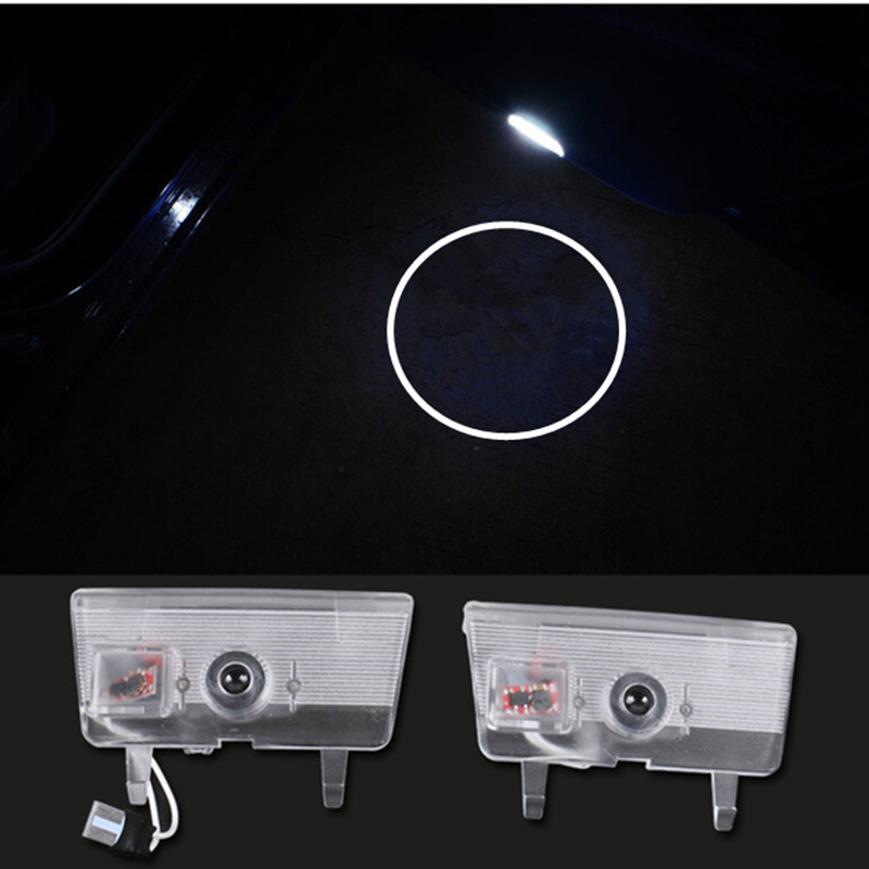 цена на car door light ghost shadow welcome light logo projector emblem For Mazda 6 Atenza 2014-2015