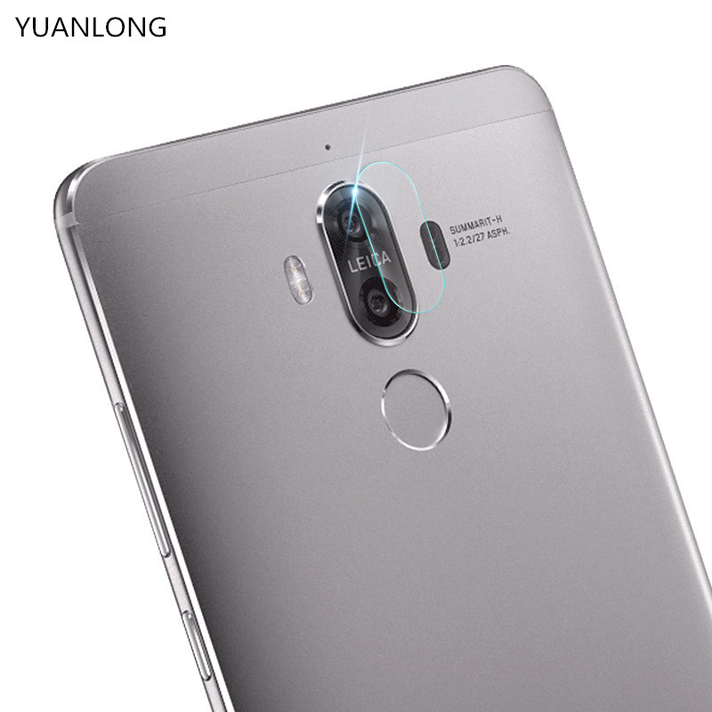 2 pcs High Quality Back Camera Lens Tempered Glass For Huawei Mate 9 / Mate9 Pro Tempered Glass Screen Protector