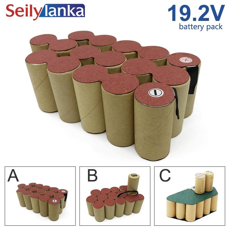 19.2V 4000mAh Ni MH batterie pack soudage outil personnalisé cd pour GARDENA Black Decker Bosch Dewalt FESTOOL Hilti Hitachi Makita-in Batteries rechargeables from Electronique    1