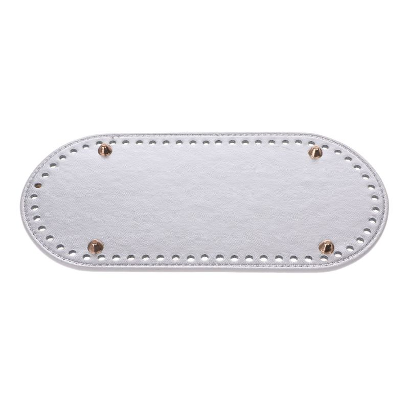 Shop For Cheap High Quality Oval Long Bottom For Knitting Bag Pu Leather 60 Holes Women Bags Handmade Diy Accessories Luggage & Bags