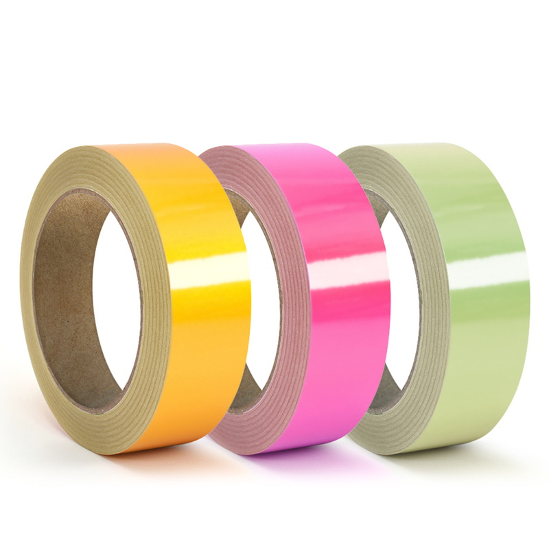 Roadway Safety Reflective Glow Tape Self-adhesive Sticker Removable Luminous Tape Fluorescent Glowing Dark Striking Warning Tape Dropshipping