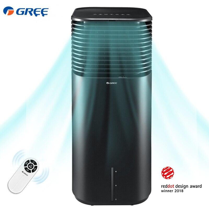 GREE télécommande ventilateur de climatisation 20L ventilateur froid maison Portable climatiseur bureau simple Humidification à froid ventilateur de sol