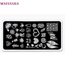 1Pcs Cute Pattern Nail Art Image Stamp Stamping Plates Bird Cage Heart Leaf Butterfly Nails Templates DIY Plate Tools ZheCheng10