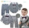 Aniversário do bebé dress coat + pants roupas de volta à escola 2 pcs primavera outono conjuntos de roupas meninos da criança casamento roupas de festa