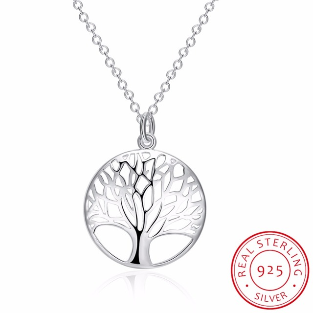 Lekani fine jewelry tree of life pendants necklaces 925 sterling lekani fine jewelry tree of life pendants necklaces 925 sterling silver necklace women men jewelry charm aloadofball Image collections