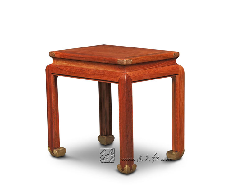 Home Furniture Rosewood Small Coffee Tables Lounge Room Solid Wood Tea Desks Carven Notebook laptop Table Annatto New Classical