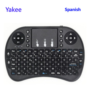 Image 3 - i8 keyboard 2.4GHz Wireless Keyboard  with Touchpad Fly Air Mouse Remote Control For Android 9.0 TV BOX HK1 max h96 max x88 Pro
