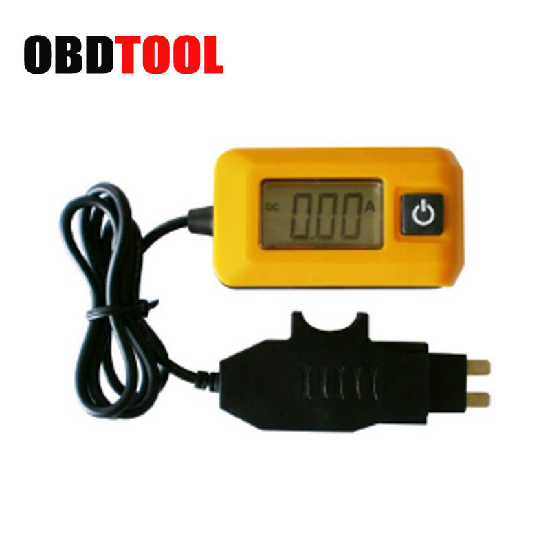 Auto Current Detector Fuse Test Scope 0.01A ~ 19.99A Current Meter Vehicle Maintenance Tools for Car Circuit Fault Finding JC15