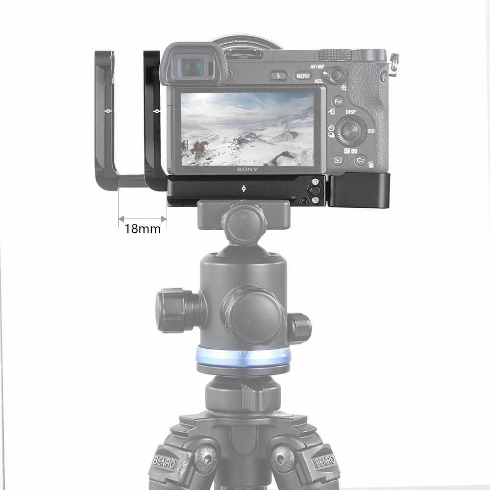 منصة تثبيت صغيرة موديل رقم الموديل A6300 لتر لكاميرا Sony A6300 لوحة L لوحة تثبيت سريعة الإصدار لوحة جانبية من نوع Arca ومجموعة لوحة القاعدة-2189