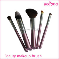 5pcs Travel Makeup Brush Set Professional Makeup Brush Wholesales Price
