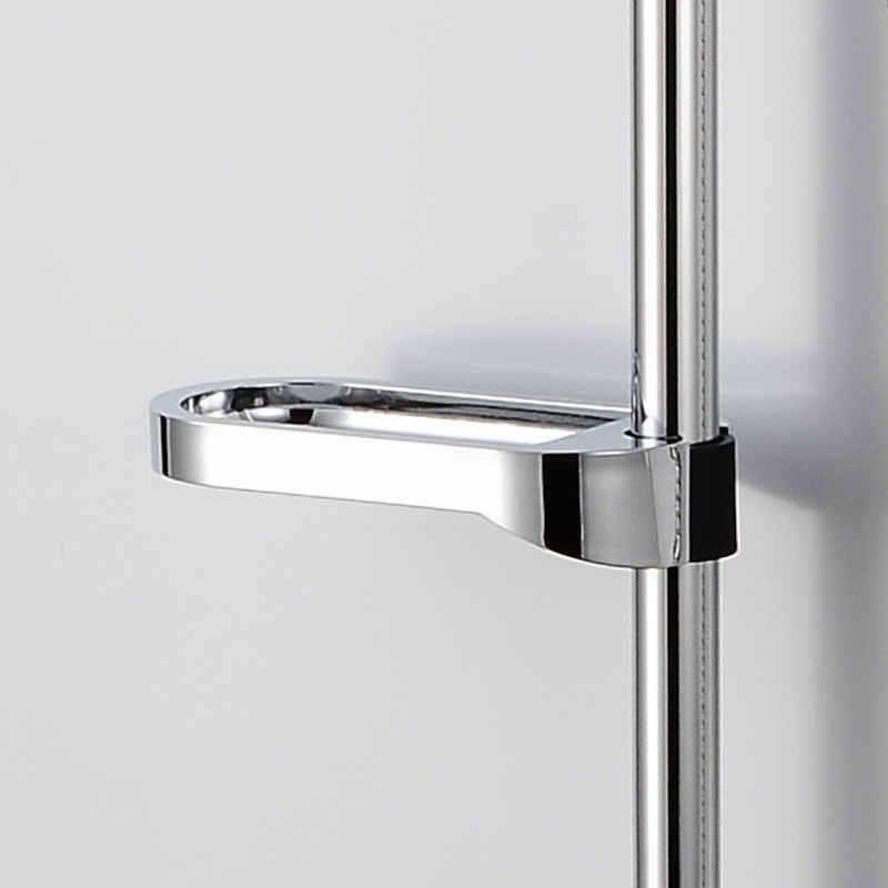Temkunes rura prysznicowa mydelniczka box case ABS łatwa instalacja mydelniczka akcesoria łazienkowe zestawy prysznicowe