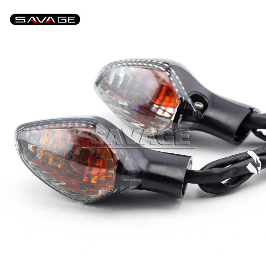 WLC Store For HONDA CBR500R CB500F CB500X 2013 2014 2015 Smoke Motorcycle Accessories Rear Turn signal Indicator Light Lamp 2 wire