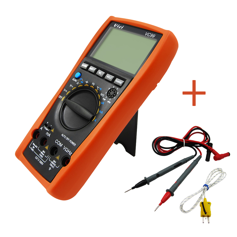 1sets VC99 3 6/7 Auto range digital multimeter have bag better FLUKE 17B+ 100% original fluke 15b f15b auto range digital multimeter meter dmm