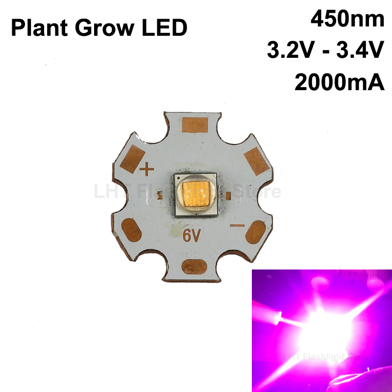 High Power 450nm Plant Grow LED 5050 SMD|Light Beads| |  - title=
