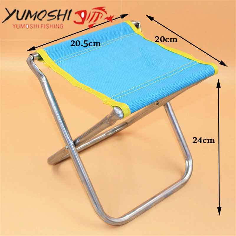 fishing chair folding chair material steel 600d oxford cloth for outdoor camping picnic garden bbq stool