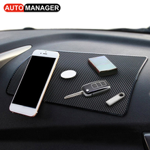 Automobiles Motorcycles - Interior Accessories - Large Size Anti-Slip Phone Key GPS Mat Holder For Car Dashboard Auto Anti Non Slip Mats Pad 27x15cm