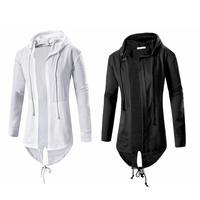 NEW Arrival Fashion Men S Hooded Cardigan Spring Autumn Long Sleeve Casual Cloak Coat Hoodie