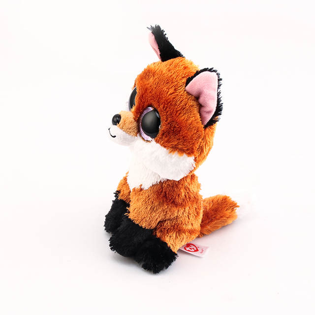 9bbeb9be09a placeholder Ty Beanie Boos Big Eyes Stuffed   Plush Animals 10 - 15cm Foxes  Toys Dolls