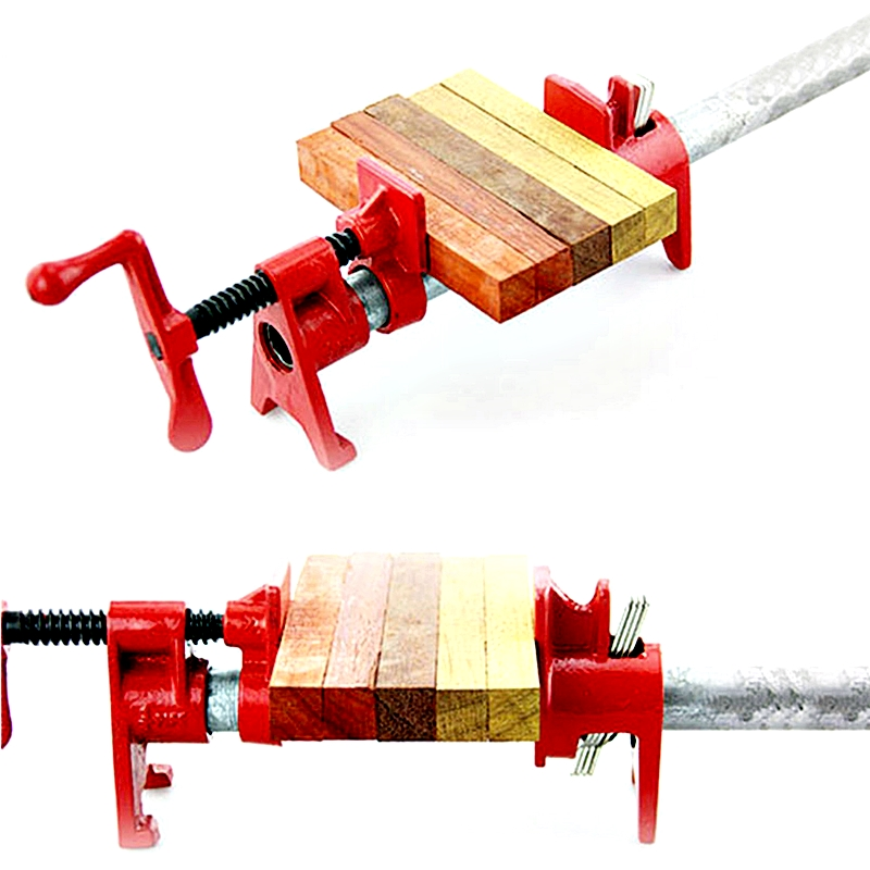3/4 inch Heavy Duty Pipe Clamp Woodworking Wood Gluing Pipe Clamp Pipe Clamp Clip Kit Spreader Fixture Carpenter Clamps3/4 inch Heavy Duty Pipe Clamp Woodworking Wood Gluing Pipe Clamp Pipe Clamp Clip Kit Spreader Fixture Carpenter Clamps