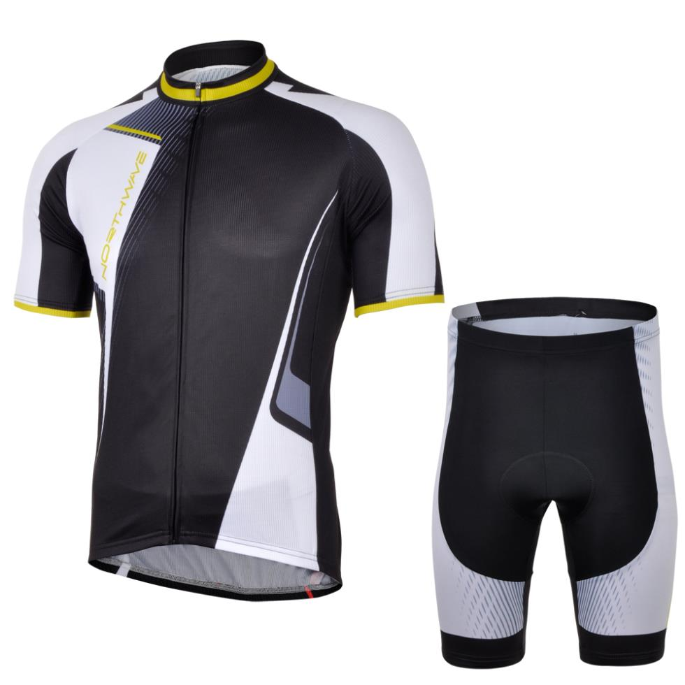 Quick-dry! North #1 2013 short sleeve cycling jersey wear clothes bicycle/bike/riding jersey pants shorts gel pad arsuxeo breathable sports cycling riding shorts riding pants underwear shorts