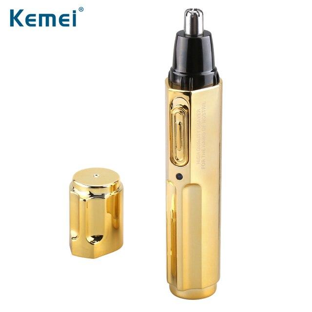Kemei KM-6616 Мода Электрический Бритья Волос в Носу Триммер Безопасно Уход За Кожей Лица для Бритья Триммер Для Носа Тример для Мужчины и Женщины
