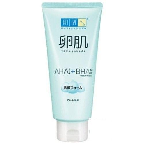 Hada labo japão tamagohada aha + bha diariamente rosto lavagem limpeza espuma 130 ml novo