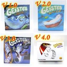 Geistes Blitz 1 2 3 4 Fantasma Blitz Geistesblitz 5 Vor 12 Doo Spooky Placa de Jogo Muito Popular Festa de Família de Jogos No Interior