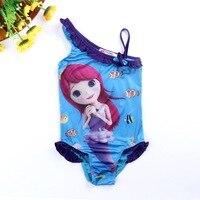 The Little Mermaid Little Girls Swimsuit