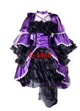 Silver Rain Anime Cosplay Egoistic Rose Women's dress Lolita Costumes evening dress suit For Halloween