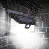 Waterproof 44 LED Solar Light PIR Motion Sensor Solar Powered Outdoor LED Garden Light Security Pathway