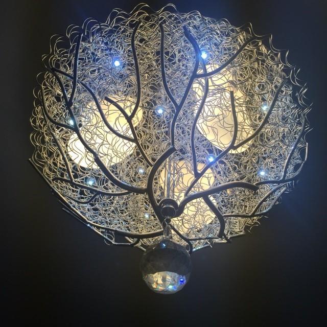 Dollar Lamp Glass Light 10