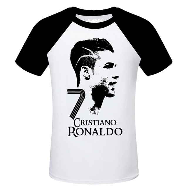 2018 World Cup Cristiano Ronaldo men's T-shirt Football, Soccer