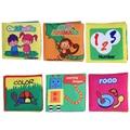 Farfalhar de som toys macio livros de pano do bebê carrinho de brinquedo chocalho recém-nascidos berço cama infantil early learning educação toys 0-36 meses