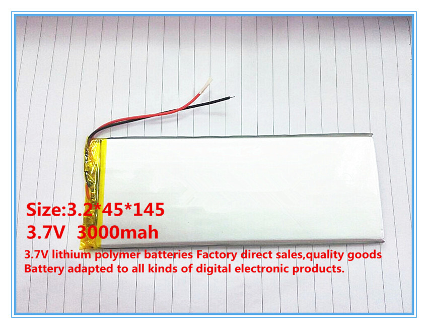 best battery brand factory direct products lithium Tablet polymer battery 3.7V 10 -inch Tablet PC built-in battery 3245145