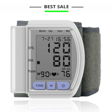 easy operate digital wrist blood pressure monitor health Sphygmomanometer de presion arterial