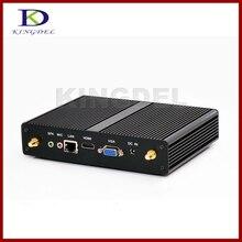 Нежный Мини безвентиляторный 4/8 г Оперативная память Intel Celeron 2955U/3205U HDMI VGA LAN USB3.0 300 м WI-FI Micro pc-мини-компьютер NC590