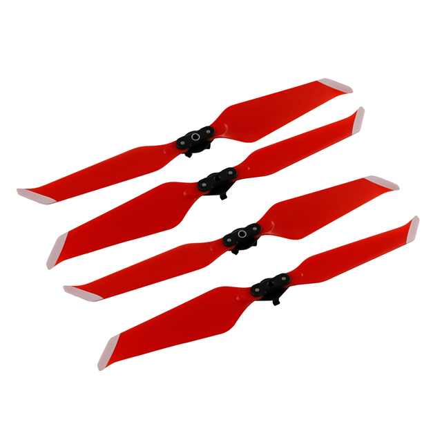 9c5dfd80773 2 pair Low-Noise Propellers for DJI MAVIC 2 Pro/Zoom Drone 8743F Folded  Quick-Release Propeller Props Blades Drone Accessories