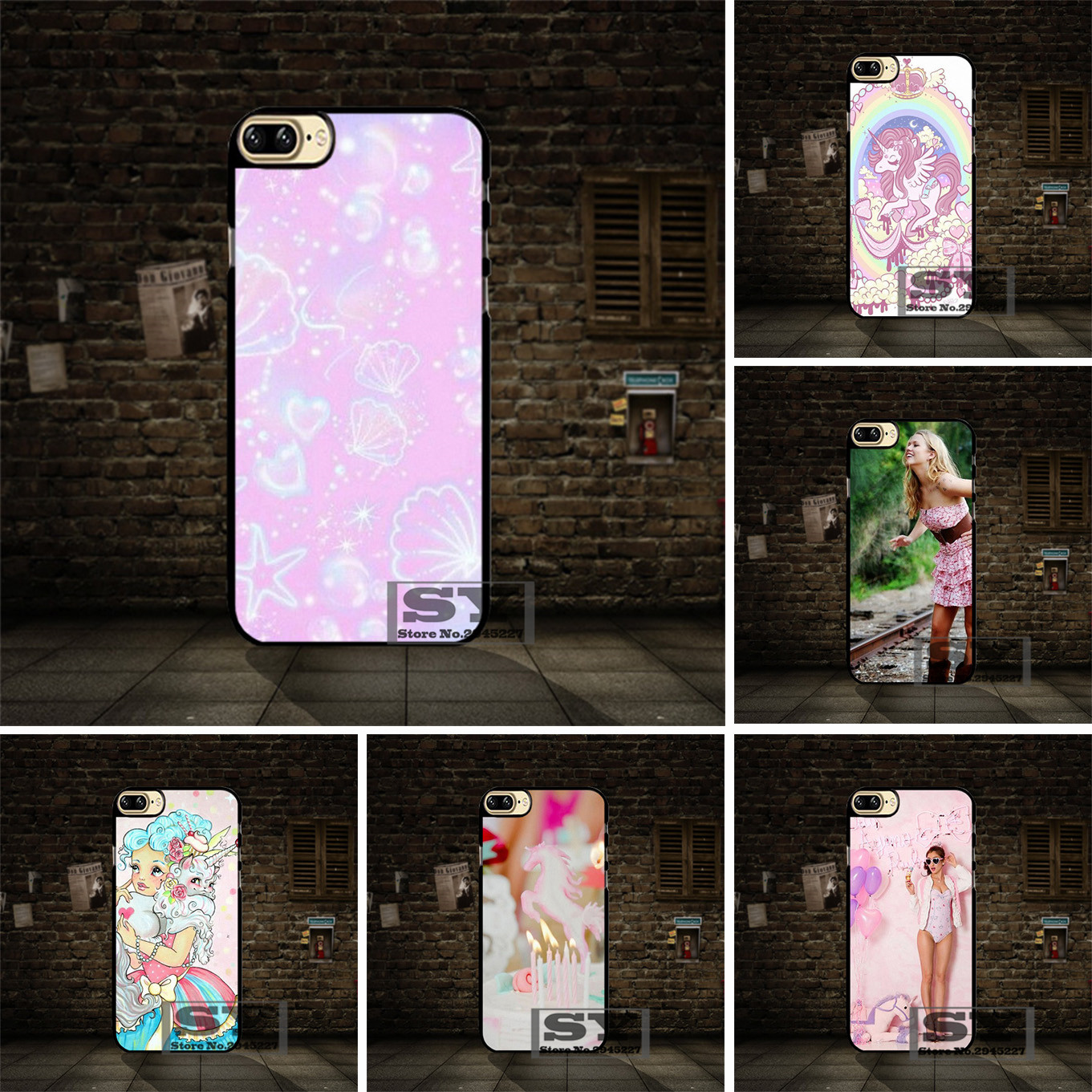 uk availability 53796 e547d US $4.99 |Unicorn Cute Girly Pink cell phone Case Cover For Samsung Galaxy  S2 S3 S4 S5 Mini S6 S7 S8 Edge Plus A3 A5 A7 Note3 on Aliexpress.com | ...