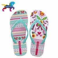 Hotmarzz Women S Comfy Unqiue Pattern Flip Flops Ladies Home House Summer Beach Slippers Thong Sandals