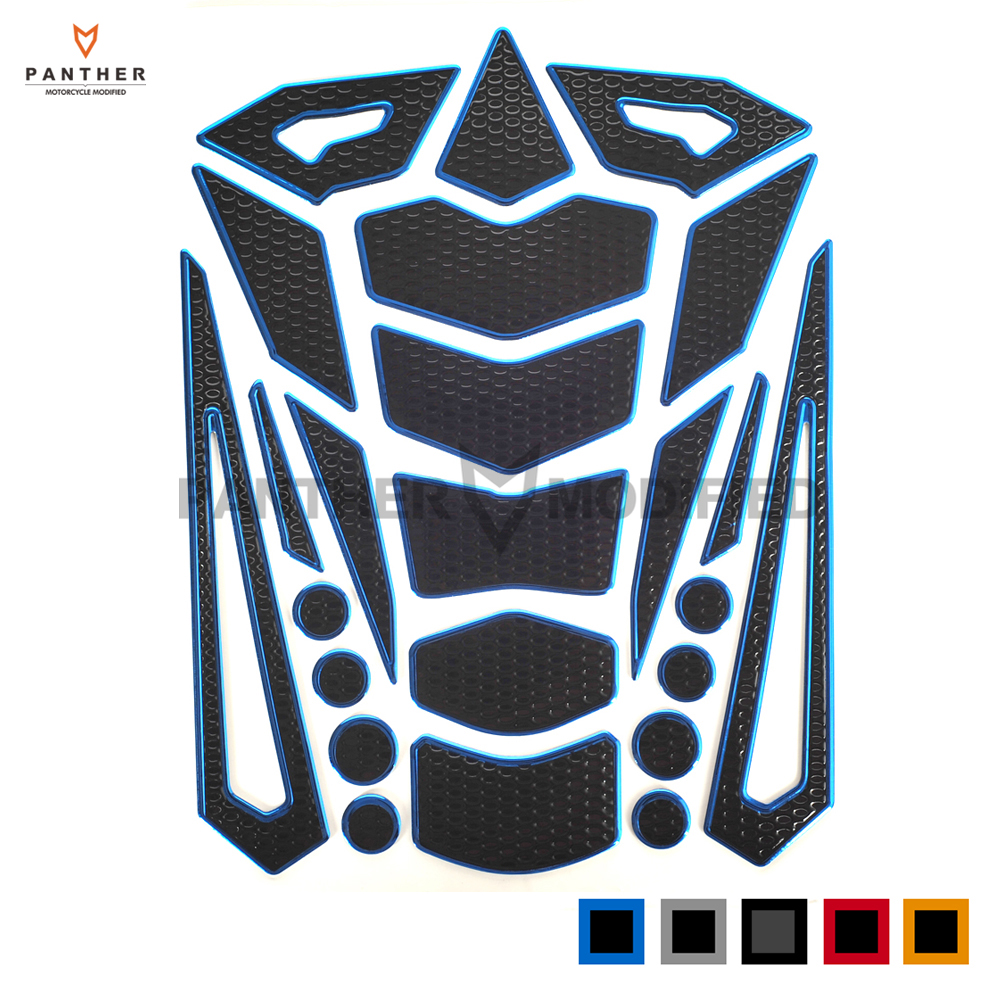 Cool Motorcycle Decal Gas Oil Fuel Tank Pad Protector Motocross Tankpad Sticker